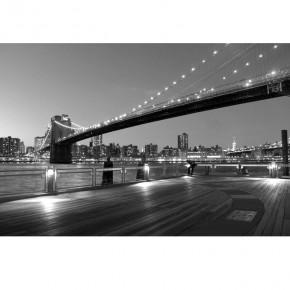 Fototapeta most Brookliński nocą nr F213349