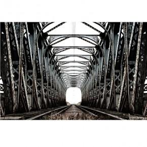Fototapeta kolejowa perspektwa nr F213481