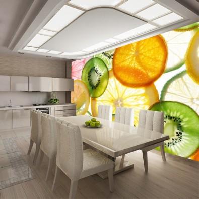 Fototapeta do kuchni owoce nr F213561