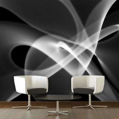 Fototapeta abstrakcja czarno biała nr F213021