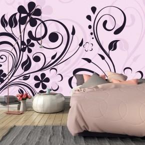 Fototapeta Kwiatowa abstrakcja do sypialni nr F213300