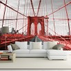 Fototapeta Brooklyn Bridge 3d do salonu nr F213344