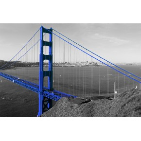 Fototapeta Most Golden Gate niebieski nr F213273