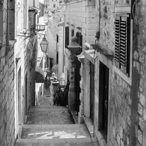 Fototapeta Chorwacja uliczka do salonu nr F213353