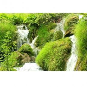 Fototapeta zielony wodospad do sypialni nr F213363