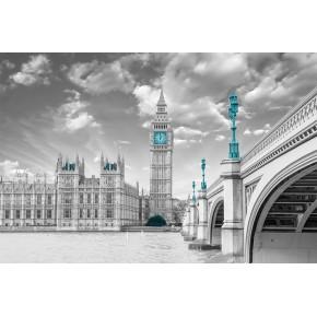 Fototapeta Londyn nr F213685 - aranżacja w salonie